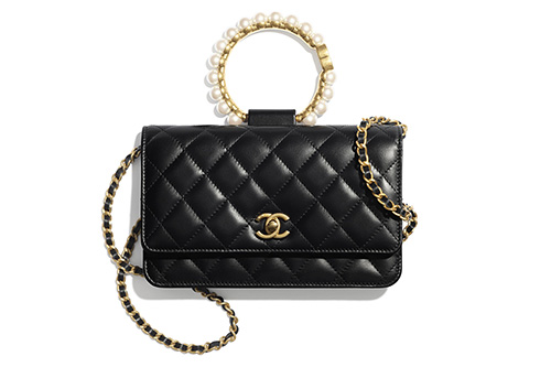 Chanel Pearl Bracelet Bag Collection thumb